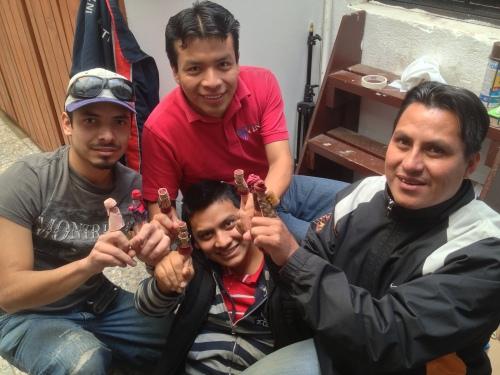"Guatemalan ""finger"" actors- Alejandro, Pedro, Carlos and Jonhy"